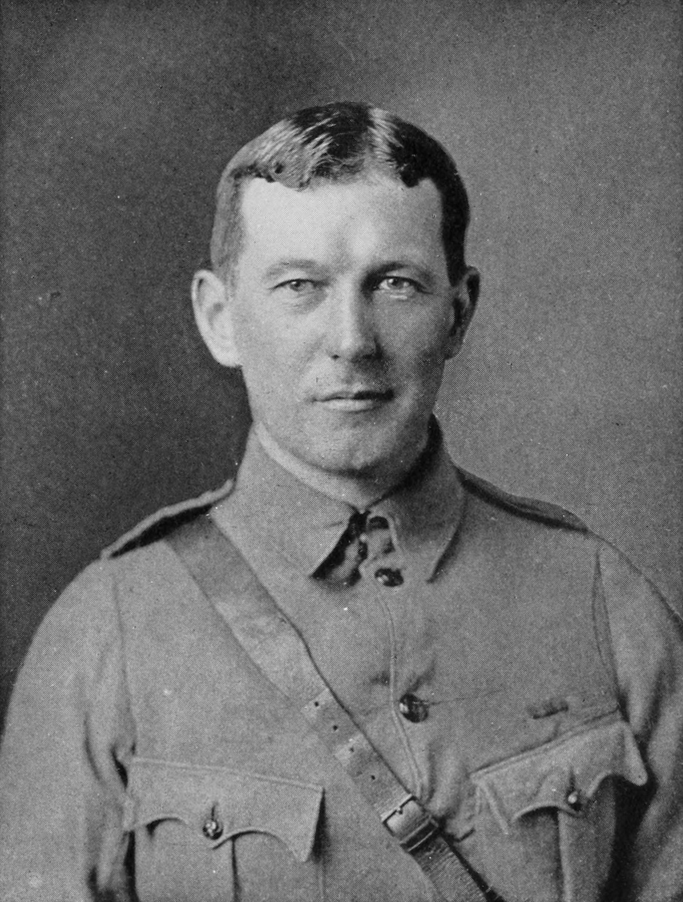 Lieut. Col. John McCrae M.D. A minute ago you were desperate to change the sex subject.