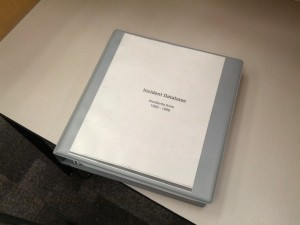 Pipeline Incident Database Binder